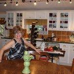 Owner in her kitchen