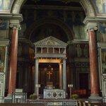 Pulpit area