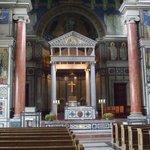 Beautiful pulpit area