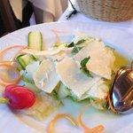 fresh zucchini with pecorino!