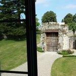 vue sur l'entrée et la porte splendide