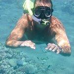 Dejligt vand til snorkling eller dykning