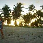 Por do sol em Maracaípe