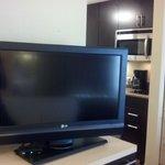 Nice, flat screen tv