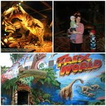 Вход в павильон динозавров
