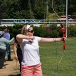 ARchery lessons at the Mountain Lodge