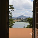Increible vista del lago desde la habitación