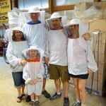 Fun beekeeper outfits