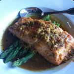 Seasonal fish in curry