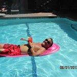 Floaties provided