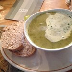 watercress soup-delicious