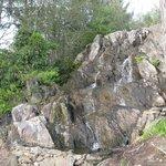 Waterfall on the walking trail
