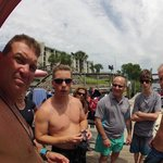 Shawn showed my son how to take stills with his gopro :)