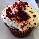 Essential Chocolate Desserts Red Velvet Cupcake with Cream Cheese Frosting