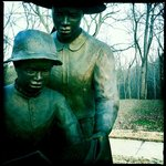Corinth Contraband Camp statue
