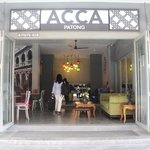 Entrance of Acca