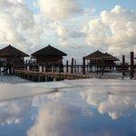 The villas on water