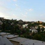 Utsikten från rum 504 mot Hollywood Hills