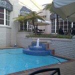 Pool and outside bar area