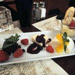 Alternate view of dessert