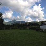 vue de la terrasse Apitoki