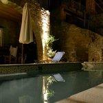 veranda e piscina