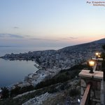 Sarande view from Paradise wine bar