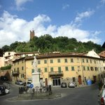 One of the little piazzas