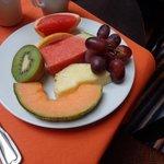 La mia porzione di frutta