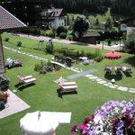Vista sul giardino