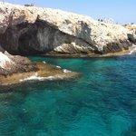 Beautiful sea caves to explore