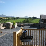 Delfryn - BBQ Are with views of Yr Eifl