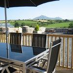 Delfryn - Decking / Seating Area with views of Yr Eifl