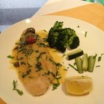 grilled sole fish with lemon