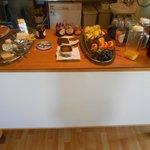 Delicious breakfast spread
