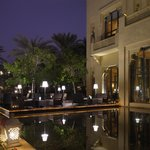 Celebrities Restaurant at One&Only Royal Mirage, Dubai outdoor seating