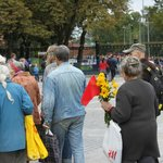 Old communists head to pay their respects.