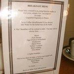 Wahlmöglichkeiten beim Frühstück