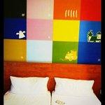 Le allegre pareti delle stanze!