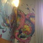 muurschilderen in de kamer