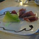 Plat au restaurants italien de l'hôtel.
