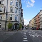 Street shot, Ibsens Hotel CPH