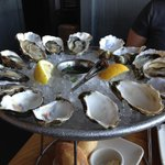 Oysters, oysters, oysters.