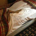 Old decrepit bed