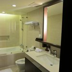 Bathroom. Tub and shower.