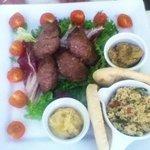 Mutton kofta which was excellent!