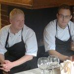 Kroens kokke Mikkel og Jonas
