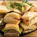 Sandwich platters and catering