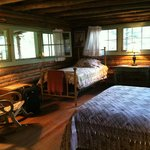 Cabins couldn't be cozier!