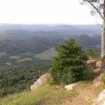 view from mtn top